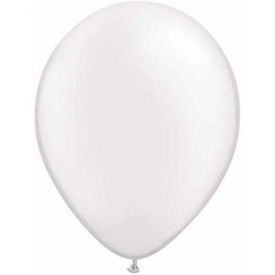 Pearl White Mini Balloons