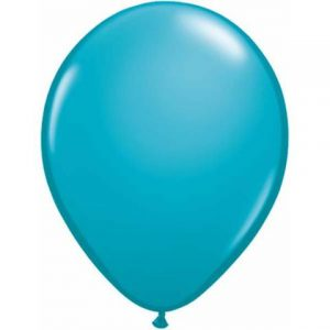 Tropical Teal Mini Balloons