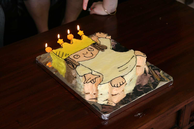 Amanda 2nd birthday cake