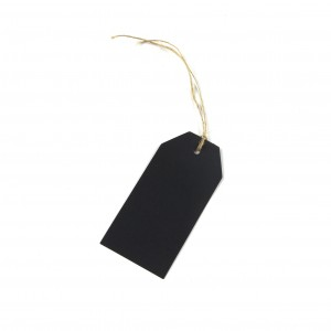 Airmail Tags ~ Black