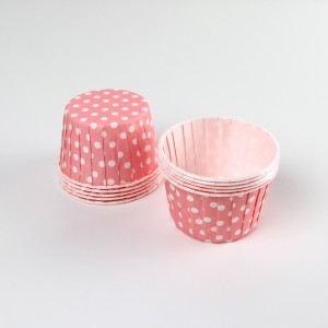 Serving Cups ~ Pink Polkadot