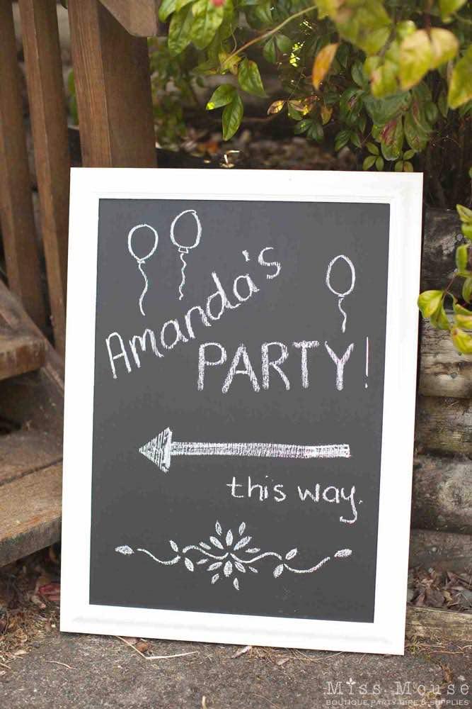 Party Blackboard