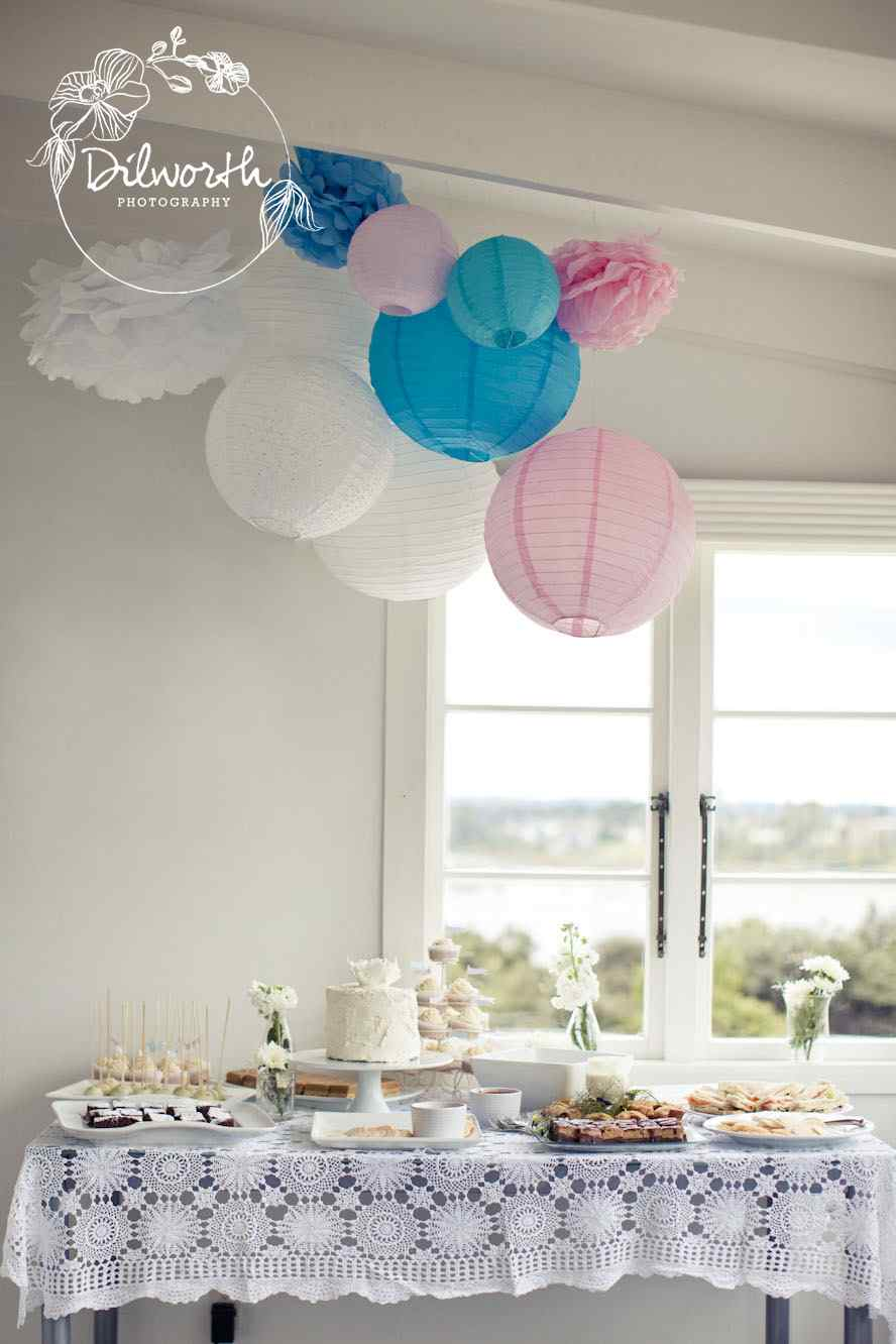 Baby Shower Ideas Pink Blue