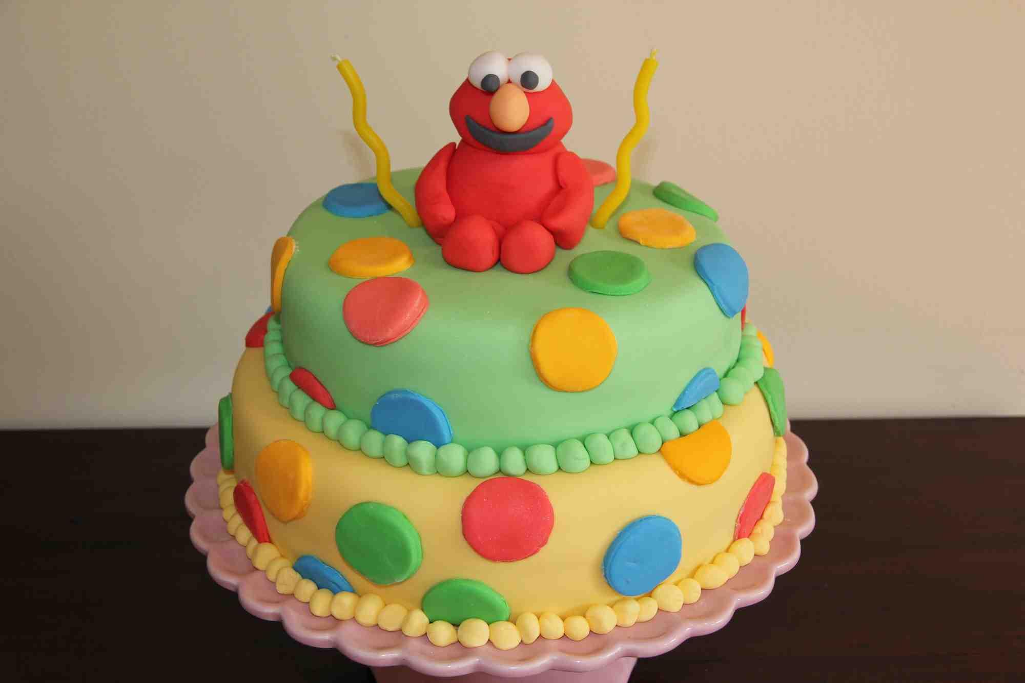 Lauras 2nd birthday cake