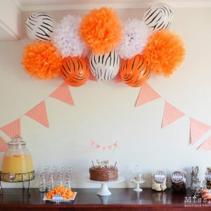 Tiger Party Decorations