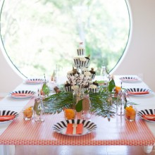 Tiger Party Table