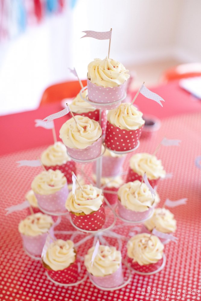 Carnival Party Cupcakes