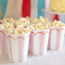 Carnival Party Popcorn Cups