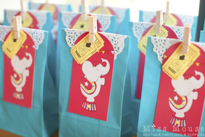 Carnival Party Loot Bags