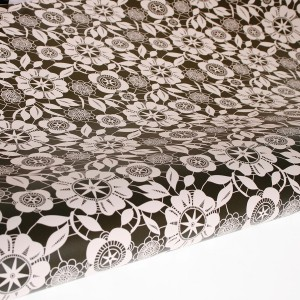 Table Runner / Gift Wrap ~ Lace Garden