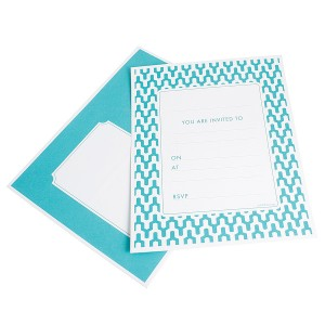 Invitations ~ Habitat Teal