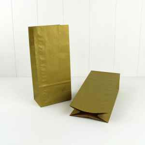 Paper Party Bag ~ Gold