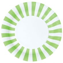 Paper Plates ~ Apple Green