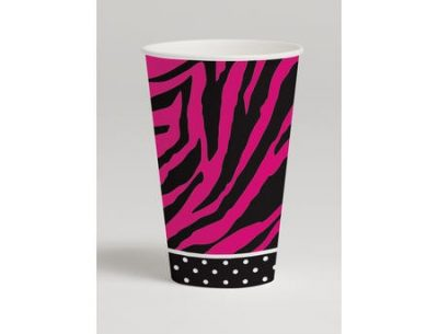 Paper Cups ~ Pink Zebra Boutique