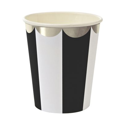 Paper Cups ~ Toot Sweet Black