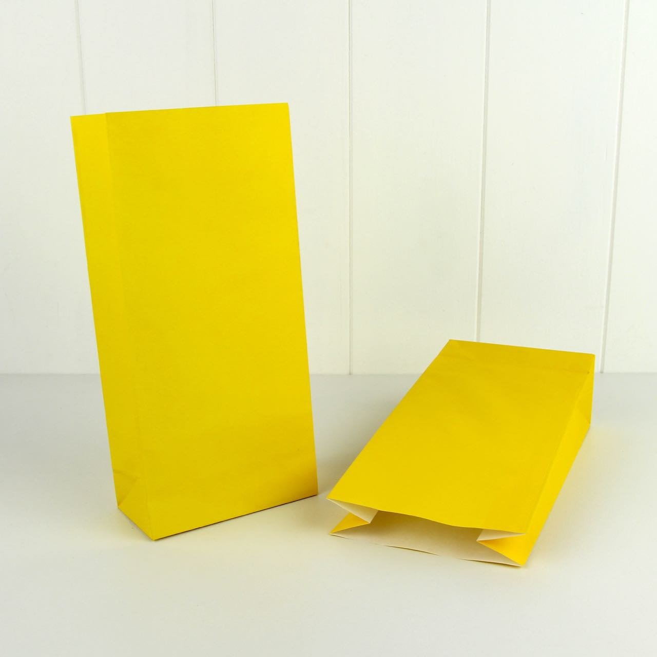 Paper bag yellow - Paper Bag Yellow