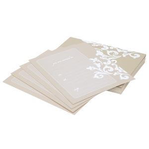 Invitations ~ Ivory Damask