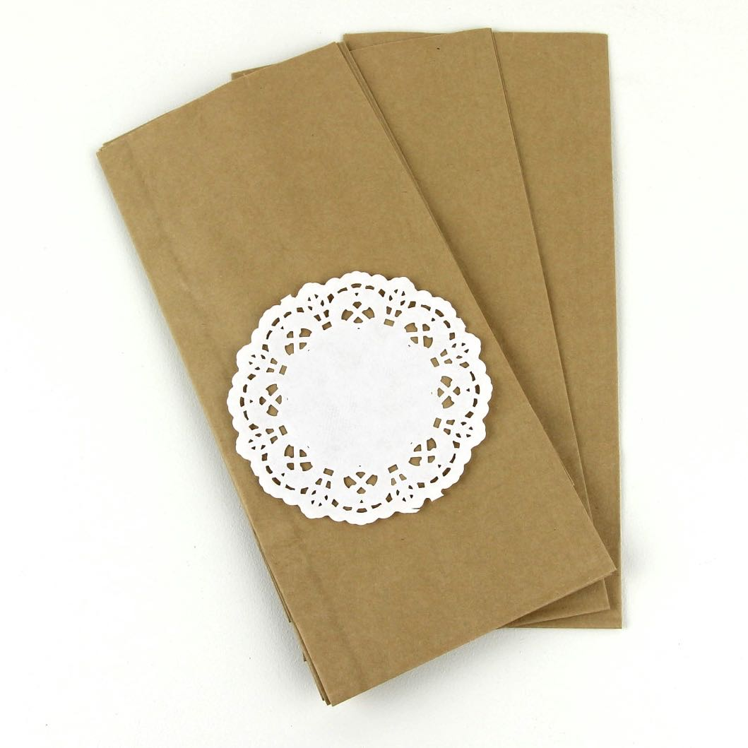 White Paper Doilies ~ 90 mm