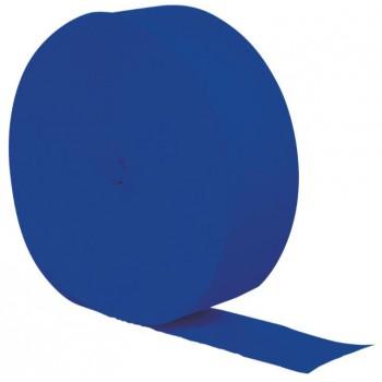 Cobalt Blue Crepe Paper Streamer