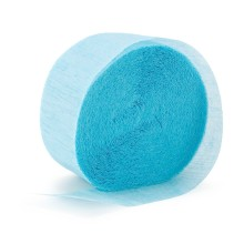 Crepe Paper Streamer ~ Light Blue
