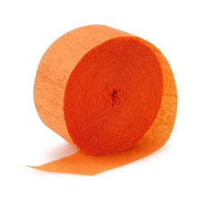 Crepe Paper Streamer ~ Orange