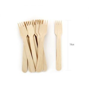 Petite wooden forks by Paper Eskimo available in NZ.