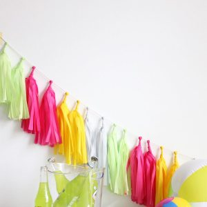 Tassel Garland ~ Boardwalk