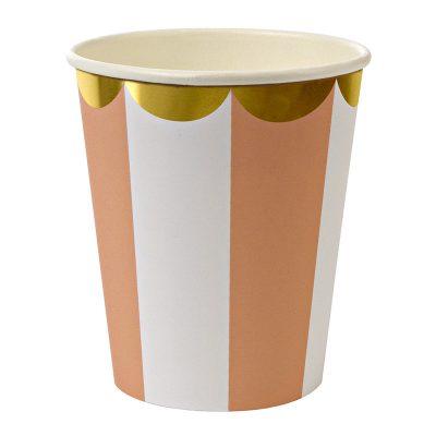 Paper Cups ~ Toot Sweet Orange