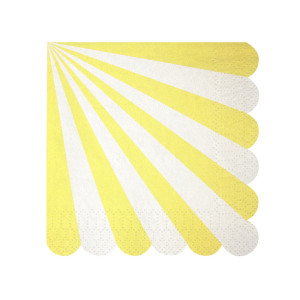 Paper Napkins ~ Toot Sweet Yellow