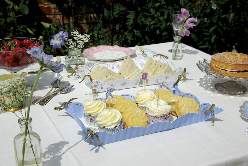 Mothers Day Vintage Tea Party Food