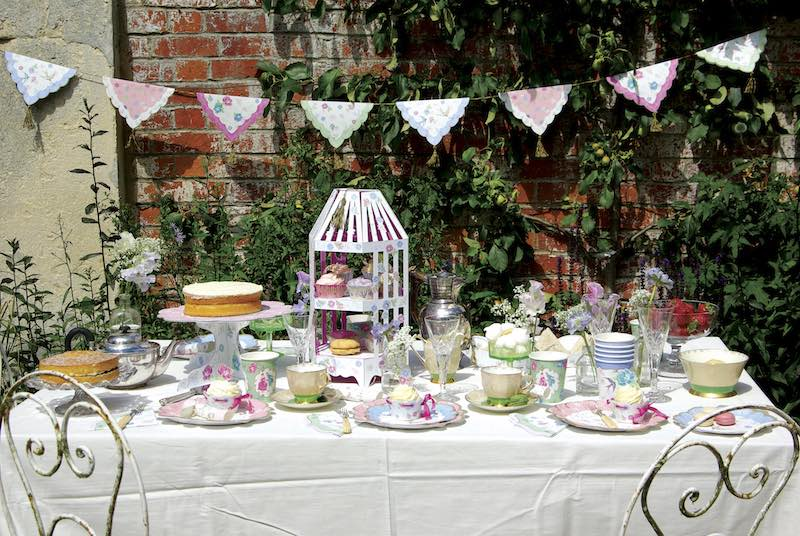Mothers Day Vintage Tea Party Supplies