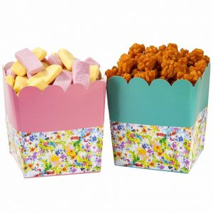 Floral Fiesta Tempting Treat Holders