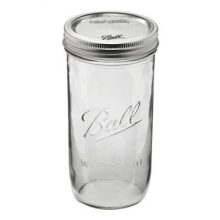 Ball Mason Jar ~ Pint & Half