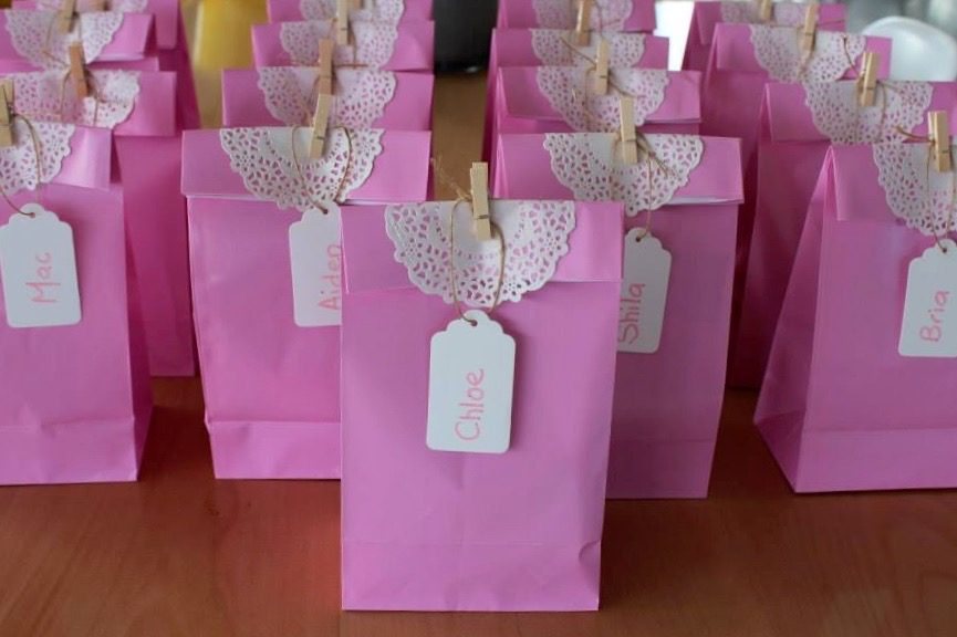 Princess party ideas and party bags
