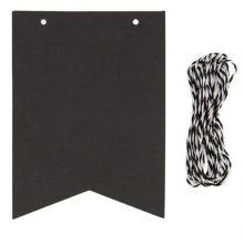Chalkboard Paper Flags