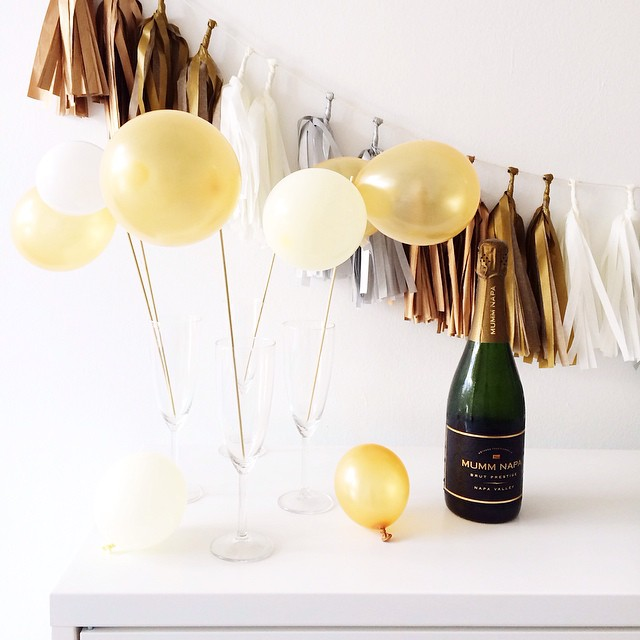 Mini Balloon Toppers