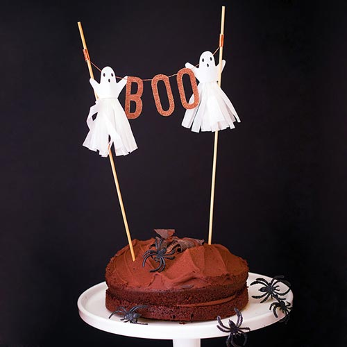 Ghost Cake Topper Halloween Cake Decorations NZ