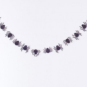 Halloween Spider Web Mini Garland