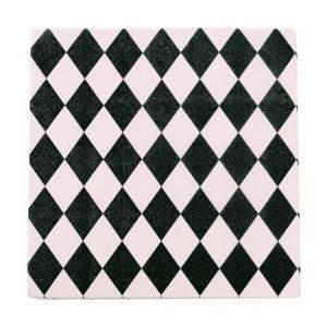 Harlequin Rose Paper Napkins