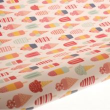 Table Runner / Gift Wrap ~ I-Scream-U-Scream