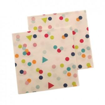Paper Napkins ~ Confetti Multi