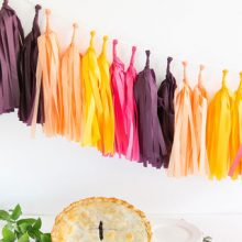 Tassel Garland ~ Bargello