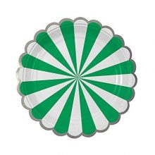 Paper Plates ~ Toot Sweet Green