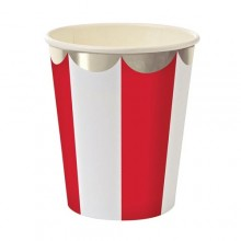 Paper Cups ~ Toot Sweet Red