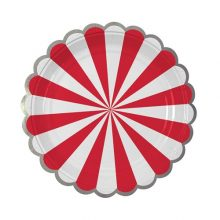 Paper Plates ~ Toot Sweet Red