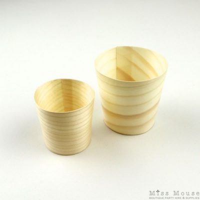 Eco Tableware Wooden Cups