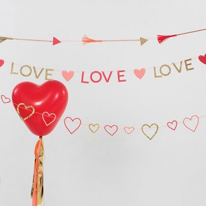 Hearts Mini Garland