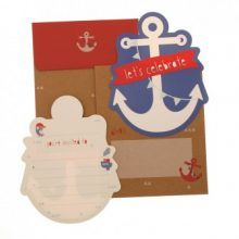 Invitations ~ Anchors Away