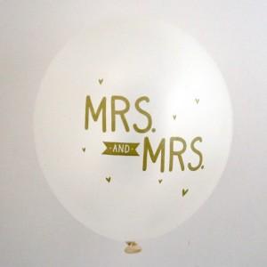 Mrs & Mrs Balloons