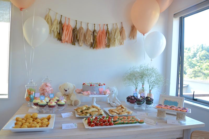 Baby Shower Decorations & Buffet
